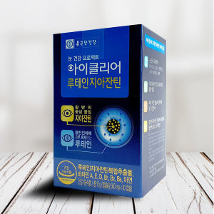 종근당 눈영양제 아이클리어 루테인지아잔틴 1박스/SH