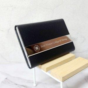 이니셜스 명함 카드 지갑 / 이름 로고 각인 서비스