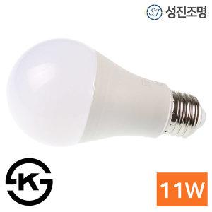 LED 전구 볼전구 볼램프 11W E26 / 두영전구11W_전구색