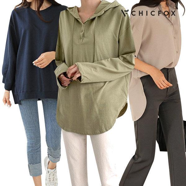 시크폭스 20%+10% 쿠폰 F/W 티셔츠/블라우스/셔츠 外