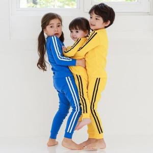 국산 가을/긴팔 유아/아동/주니어 내의 실내복 잠옷
