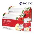 사과 100% 사과즙 100 NFC착즙 사과원액 30포 2박스