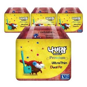 울트라씬듀얼핏 팬티 대형 4팩