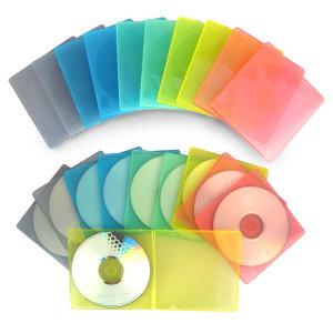 CD 연질 케이스 100장/ CD DVD케이스/ 컴퓨터용품