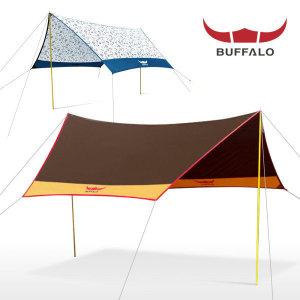 버팔로스포츠  컴팩트 헥사타프/2500mm내수압/UV코팅/그늘막 캠핑용품 텐트그늘막