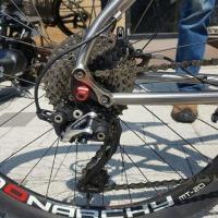 첼로 티타늄 mtb 자전거