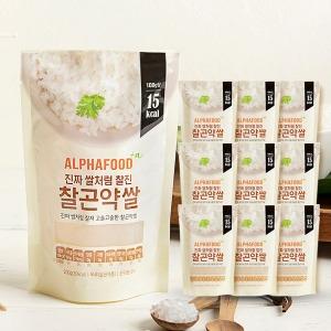 알파푸드 찰곤약쌀 200g x 30개 SET (곤약 99.9%)