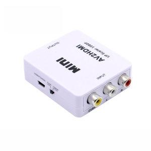 AV to HDMI 컨버터 3RCA 콤포지트 신호 변환 NX0648