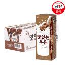 맛있는우유GT 멸균 초코 180ml 24입