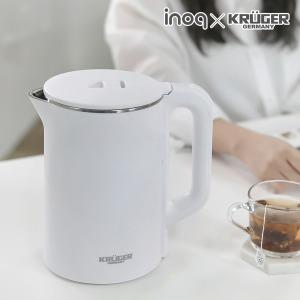 크루거 2L 이중단열 무선 전기포트/커피포트 7일특가