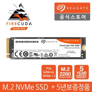 파이어쿠다 520 M.2 NVME SSD 1TB PCIE 4.0+5년보증+