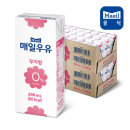 매일 멸균우유 무지방 0% 200ml 48팩/저지방/두유