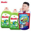 쉬슬러 세탁 액체세제 3.05LX2 유칼립투스+표백제2kg