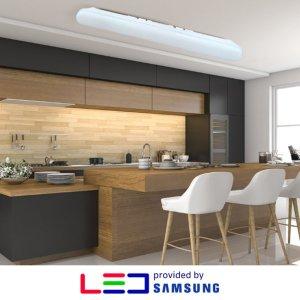 LED 형광등 일자등 국산 삼성칩 30W 미란다