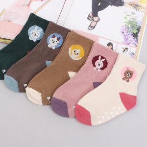쿠키애니멀 5족 아동양말/유아/아기/어린이답례품선물