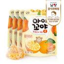 아이꼬야 동결건조 과일 4개(귤)