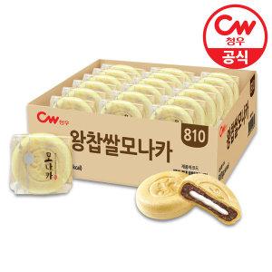 왕찹쌀 모나카 27개입 810g/과자/간식/팥/찰떡 - 상품 이미지