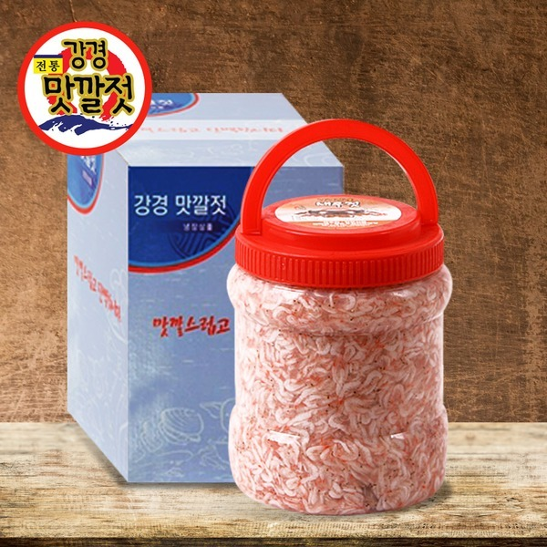 우리네농산물 강경황토 새우젓 추젓 2kg / 햇새우젓
