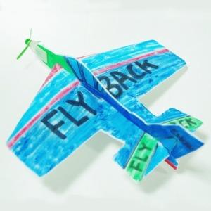 플라이백 글라이더/Fly Back 360도 회전 만들기