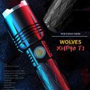 XHP90 줌기능 TACTICAL 울브스 T1 LED 후레쉬 랜턴