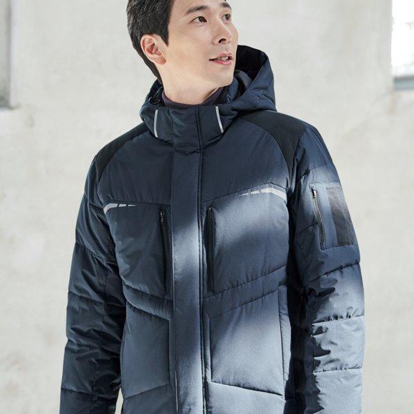 작업복상의 ZB-J1854 겨울 잠바 추동복 근무복 자켓