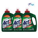 액츠 퍼펙트 세탁세제 안티박 3.5L 3개