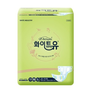 화이트유 골드 특대형(10매x8팩) 성인기저귀
