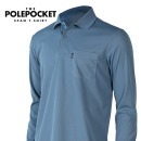 폴포켓T 카라티 남자 가을 등산티셔츠 등산복 작업복