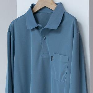 폴포켓T 카라티셔츠 남자 남성 스판티셔츠 긴팔티셔츠