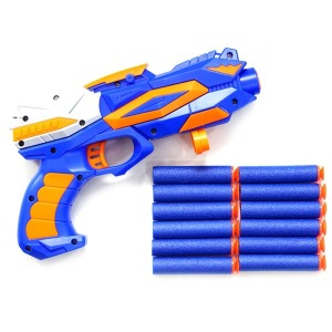7000서바이벌다트총 너프건 장난감총 흡착총알12개