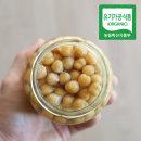 바로먹는 유기농 병아리콩 350g (고형량 220g) 유리병