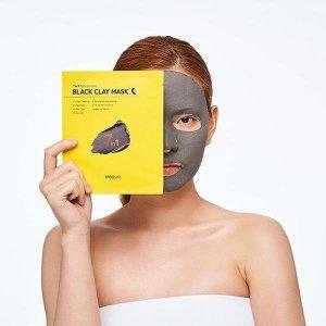 롭스   바루랩  블랙 클레이 마스크 5입