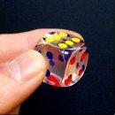 18.5 투명 주사위-아크릴주사위 게임 블루마블 놀이