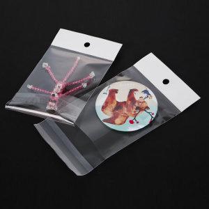 OPP헤다봉투 투명봉투 100x(30+150)+40/200매