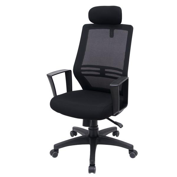 RM디자인 로하스 블랙  메쉬 사무용 컴퓨터 의자