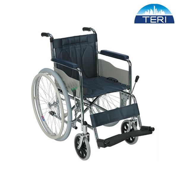 스틸 일반형 휠체어 TE-102 링겔꽂이 레자커버