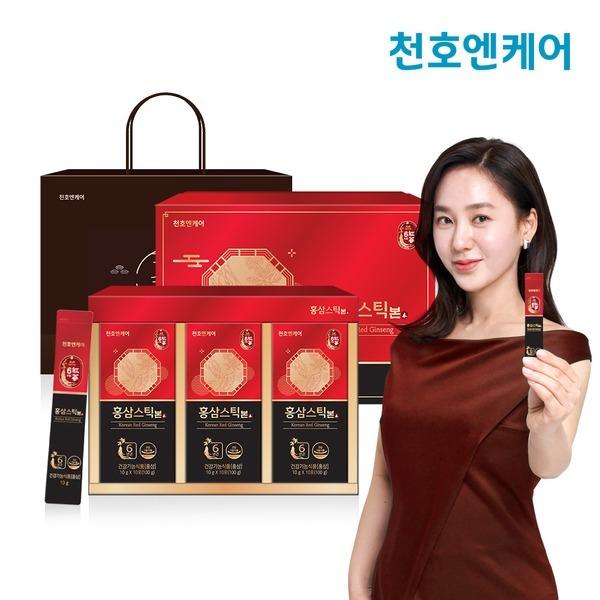 홍삼스틱 본 10g 30포+선물용 전용쇼핑백 증정
