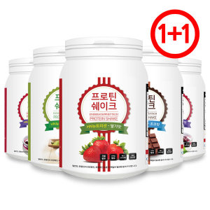 1+1 HN뉴트리션 단백질쉐이크 600g/딸기+딸기맛