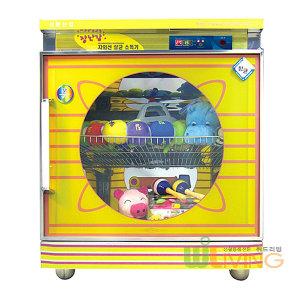 신원산업 장난감살균기(SW-600) 투명유리/열풍/소독기