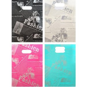 HDPE 양장지봉투 펜시봉투 비닐쇼핑백 350X450/200매