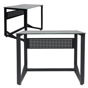 로그 컴퓨터 게이밍 PC방 컴퓨터 책상 강화유리700