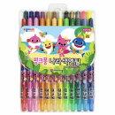 핑크퐁 나라색연필 24색