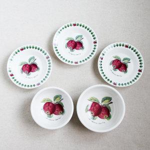 애플데이 시리즈) 애플데이 혼밥세트 국산 레트로 그릇