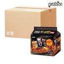 틈새라면 볶음면 130gx4개 8팩(1 BOX)