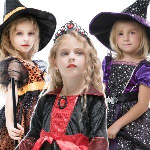 무료배송 할로윈 의상 아동 마녀 코스튬 할로윈데이