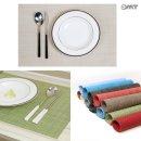 모던 플레이팅 식탁 다이닝 방수 테이블 매트 OTM-G
