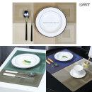 모던 플레이팅 식탁 다이닝 방수 테이블 매트 OTM-S