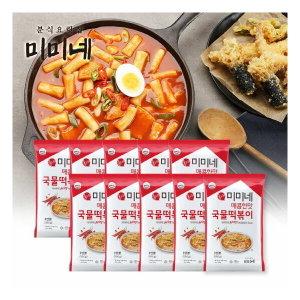 미미네떡볶이 2탄 매콤한맛 국물떡볶이 590g 10팩 세