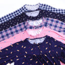 오브 리본 여성 피치기모잠옷 마약잠옷 보들 파자마