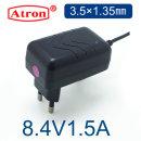 8.4V 리튬이온 배터리 충전기 8.4V1.5A 충전기 1.35